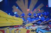 图文:北京奥运会开幕式 文艺演出丝路表演