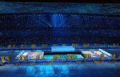 图文:北京奥运会开幕 文艺演出礼乐显示完美