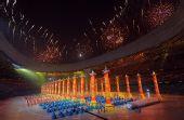图文:第29届奥运会隆重开幕 文艺演出礼乐表演