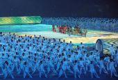 图文:第29届奥运会隆重开幕 文艺演出自然很眩