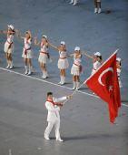 图文:北京奥运会开幕运动员入场式 土耳其入场