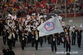 图文:北京奥运会开幕式 中华台北代表团入场