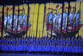 图文:北京奥运开幕式 丝路演出夺人眼球2