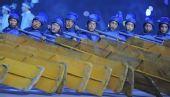 组图:北京奥运开幕式 丝路演出夺人眼球