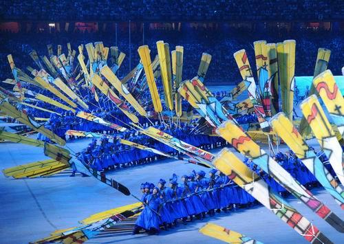 图文:北京奥运开幕式 丝路演出夺人眼球8