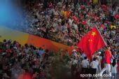图文:开幕式入场式 旗手姚明率中国代表团入场