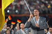 图文:北京奥运会运动员入场式 德国奥运代表团