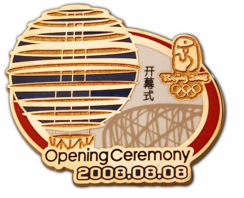 奥运会开幕式徽章一