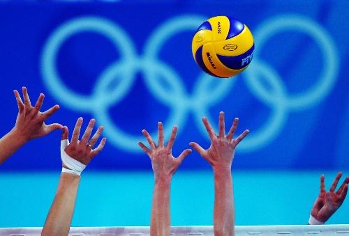 北京奥运会排球开赛