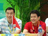 图文:女排发布会众主帅亮相 中国男女排主教练