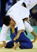 图文:男子60公斤级淘汰赛 刘仁旺无缘奖牌