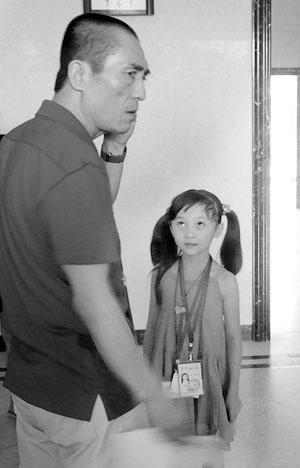 林妙可是张艺谋钦点的小童星(林妙可供图)