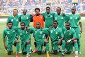 图文:尼日利亚VS日本 尼日利亚队首发