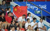 图文:中国选手龙清泉摘金 现场观众非常热情