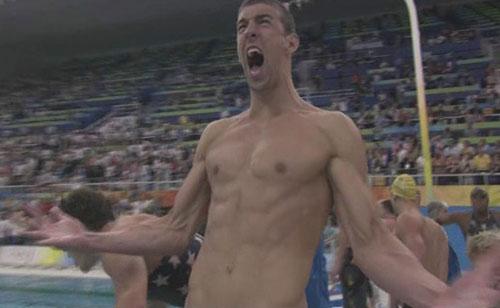 夺金时刻:美国获得男子4x100米自由泳接力金牌