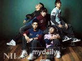 组图:Bigbang担任服装品牌代言 拍秋季广告照