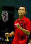 图文:奥运羽毛球男单前32比赛 索尼成功晋级