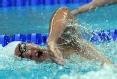 图文:男子200米自由泳半决赛 韩国选手朴泰桓