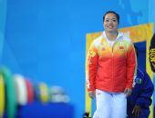 图文:女子58公斤级小组赛 中国陈艳青羞涩亮相