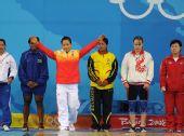 图文:女子58公斤级小组赛 陈艳青准备出击