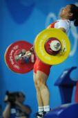 图文:女子58公斤级小组赛 陈艳青叱咤赛场