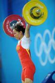 图文:女子58公斤级小组赛 陈艳青相当轻松