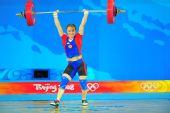 图文:女子58公斤级决赛 小心扭了腰