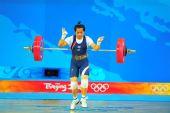 图文:女子58公斤级决赛 无奈失利