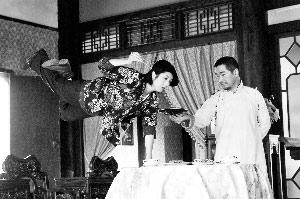 杨千嬅曾和张国立一起合作《武十郎》