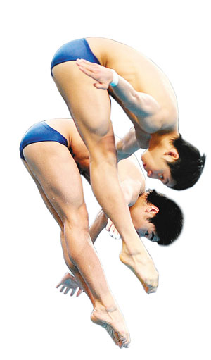 林跃/火亮在男子双人10米跳台决赛中