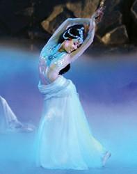 刘岩昔日的优美舞姿