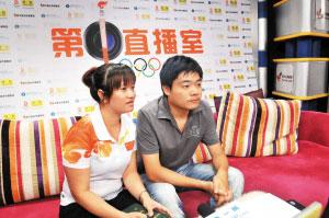 本报记者采访丁俊晖