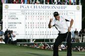 图文:PGA锦标赛哈林顿夺冠 哈灵顿锁定胜局
