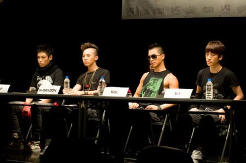 BigBang在日本举行了歌迷见面会