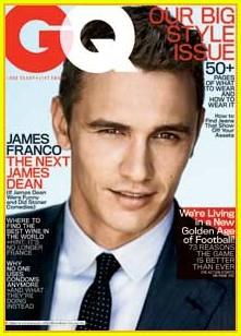 詹姆斯-弗兰科的《GQ》封面