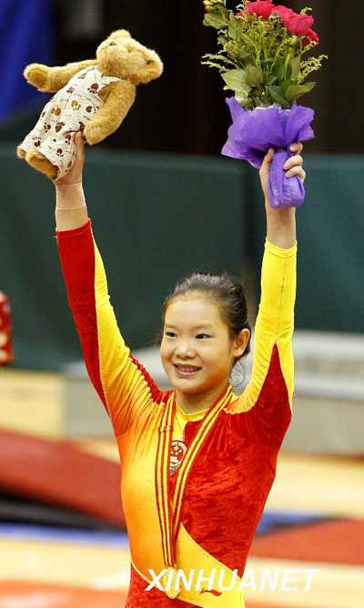 程菲/程菲 中国女子体操团体队核心人物