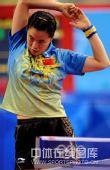 图文:女乒团体赛中国轻取克罗地亚 王楠热身