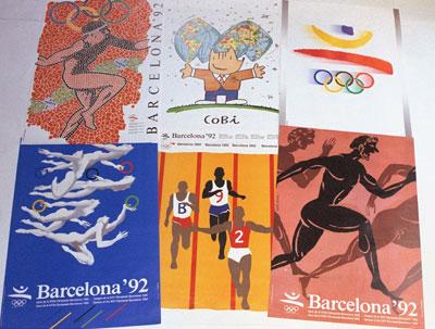 1992巴塞罗那奥运会海报图片