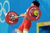 图文:女子69公斤级决赛 刘春红破世界记录
