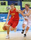 图文:[女篮]中国VS新西兰 卞兰进攻