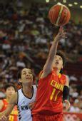 图文:[女篮]中国80-63新西兰 邵婷婷投篮