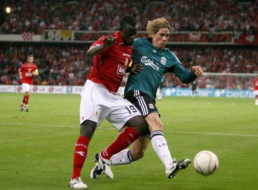 欧冠预选赛 雷纳扑出点球 wbr 利物浦0 0标准列日