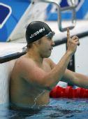 图文:男子200米蛙泳决赛 日本蛙王成功卫冕