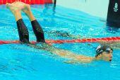 图文:男子200米个人混合泳 横占泳道