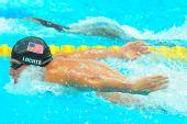 图文:男子200米个人混合泳 洛奇特第一晋级