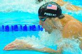图文:男子200米个人混合泳 蛙泳前进