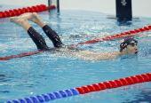 图文:男子200米个人混合泳半决赛 银鱼晋级