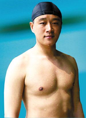 """佟大为:""""要是我一直练游泳,还轮得到你出场?"""""""