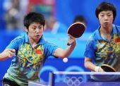 图文:[女团]中国队全胜晋级半决赛 反手回球