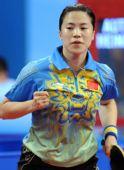 图文:[女团]中国队全胜晋级半决赛 王楠鼓劲